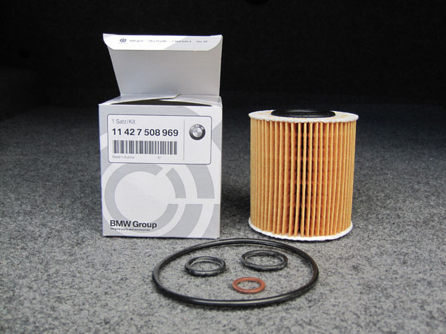 BMW e46 Oil filter Pack