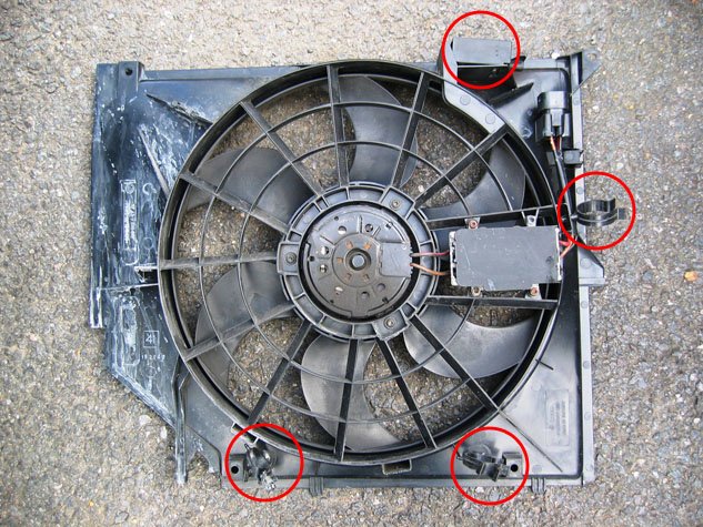 Impee S Diy Radiator Electric Fan Change Bmw E46